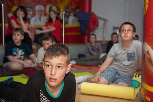 pizsamaparti muzeum da vinci learning2