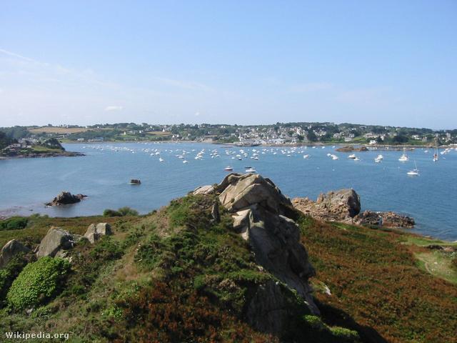 Le Diben-öböl, Bretagne