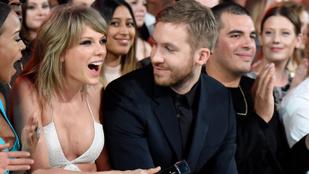 Calvin Harris csak nem Taylor Swiftezett egyet?