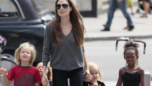 Angelina Jolie gyerekei hét különböző nyelven beszélnek
