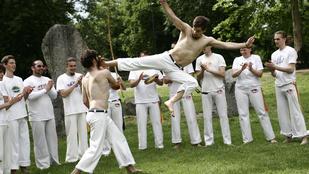 Élőzene, akrobatika, játék, önvédelem – ez a capoeira, a táncba bújtatott harcművészet