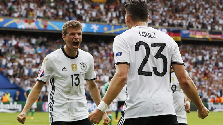 Németország nyert, első, Mario Gomeznek köszönjük