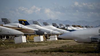 Leszerelt repülőket tuningoltat fel az amerikai hadsereg