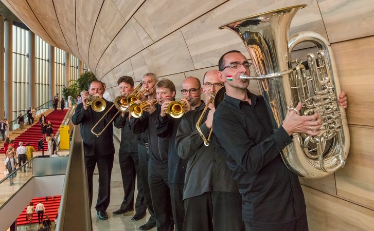Wagner in Budapest - Hungarian Radio Symphony Orchestra brass in