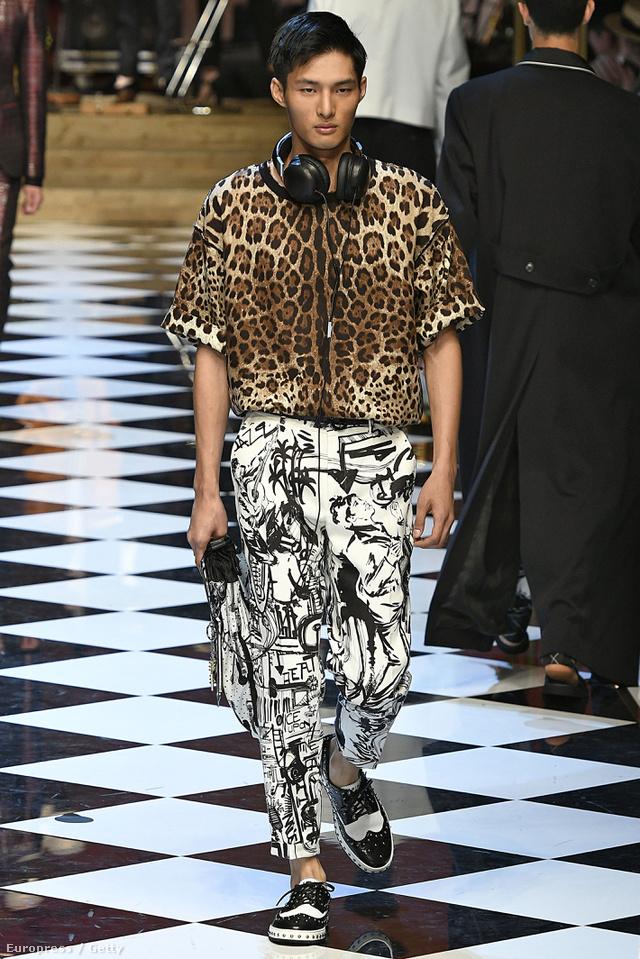 Nem lesz ciki egymással keverni az egymástól eltérő mintákat a Dolce & Gabbana tervezőpárosa szerint.