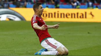 Gera gólja egyelőre harmadik az Eb legszebb góljainak versenyében