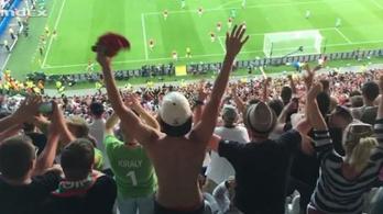 Így őrült meg a magyar tábor Dzsudzsák két góljától