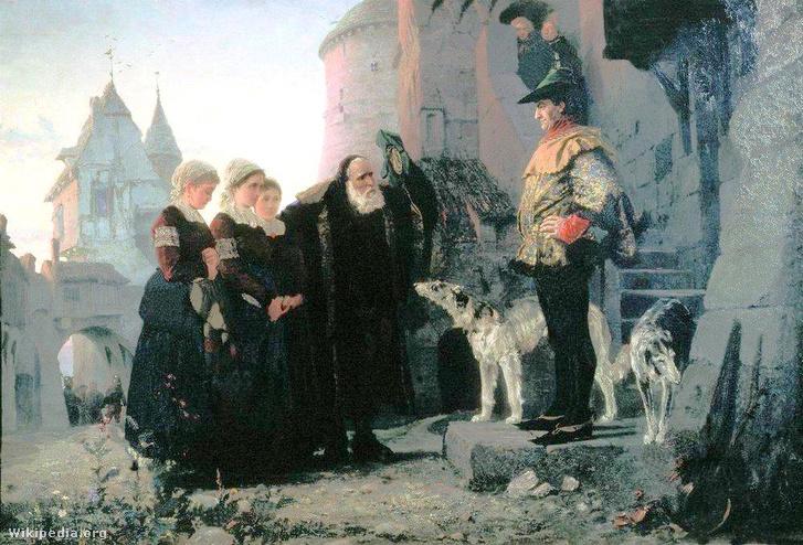 Le droit du Seigneur by Vasiliy Polenov