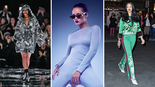 Rihanna a divatvilág egyik legnagyobb kedvence