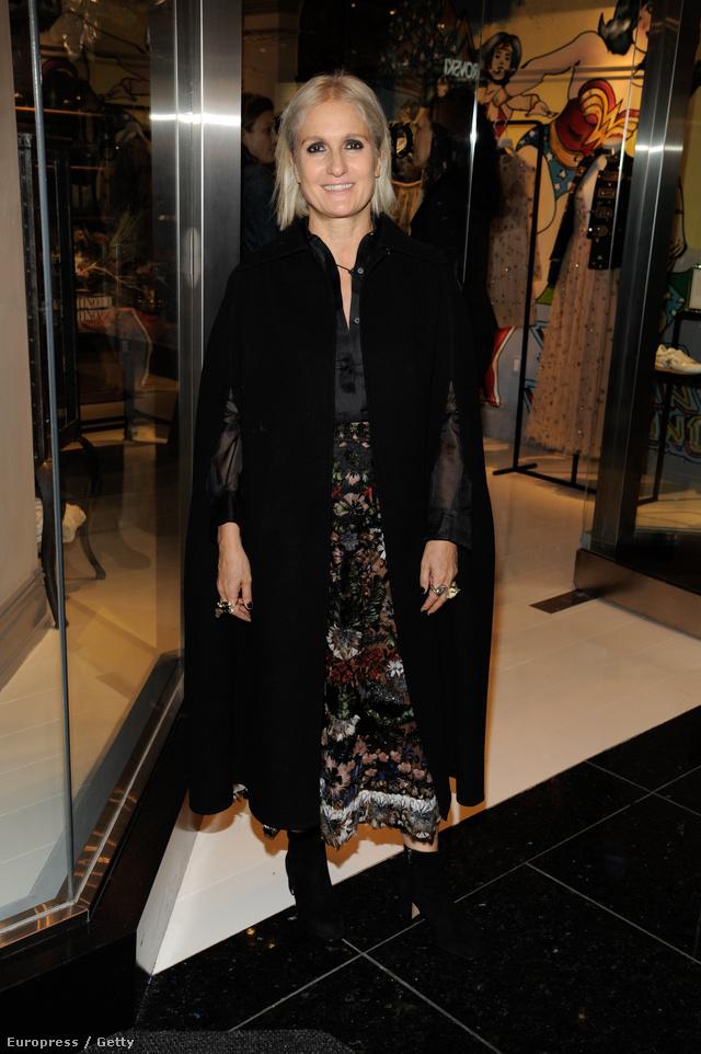Maria Grazia Chiuri a Dior ház első női kreatív igazgatója.