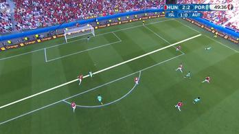 Fel se tűnt, de tök szabálytalan volt Ronaldo sarkazós gólja