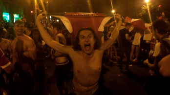 Úgy ünnepelt Budapest, mintha világbajnok lenne a csapat