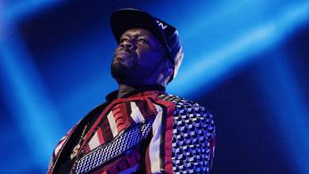 Letartóztatták 50 Centet, mert a színpadon káromkodott