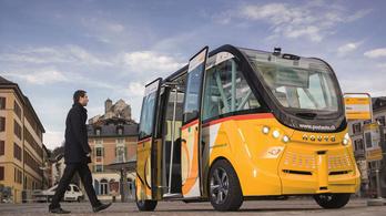 Már utasokat is szállít az önvezető busz