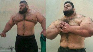 Ilyen a perzsa Hulk valójában