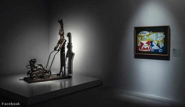 Picasso kiállítás a Nemzeti Galériában