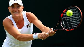 Babos könnyedén jutott a második körbe Wimbledonban