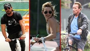 Ők itt mind bicikliznek nyáron
