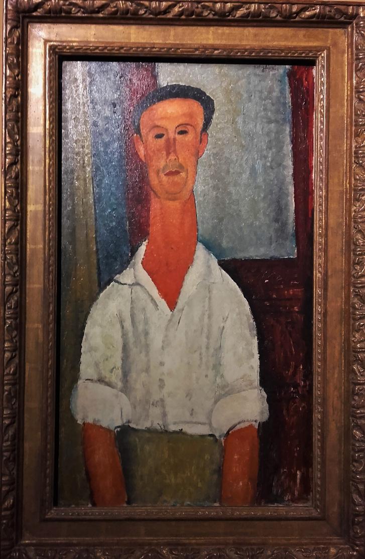 Modigliani: Gaston Modot, 1918