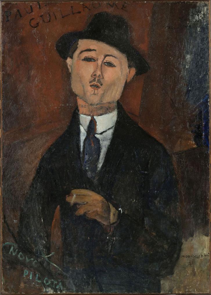 Modigliani: Paul Guillaume portréja