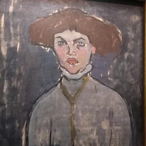 Modigliani: Fiatal nő mellképe