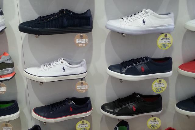 Office Shoes: 17-23 ezer forint közötti áron vehet Polo Ralph Lauren csukát.
