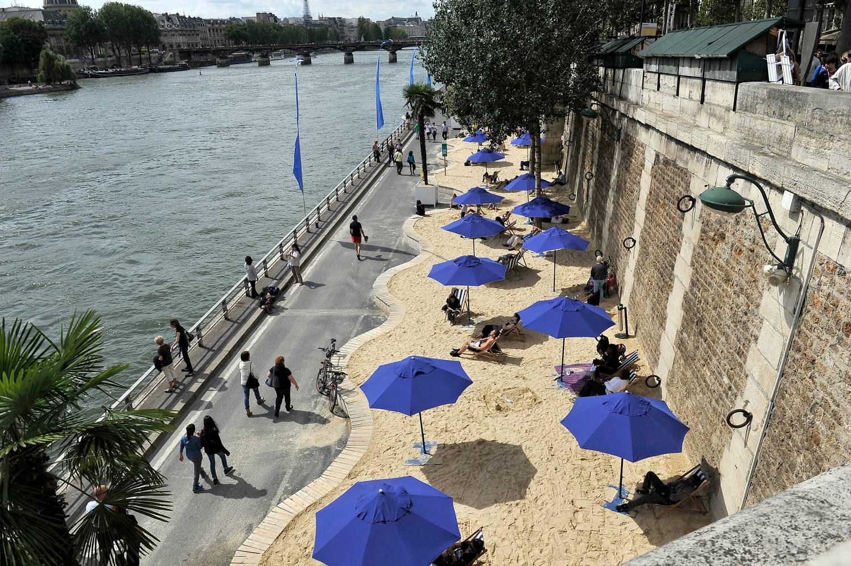 Ingyenes strandok nyílnak Párizsban