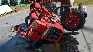 Halálos traktorbaleset az 55-ös úton