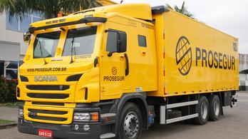 Már a cigarettát is páncélozott kamionnal szállítják a brazilok
