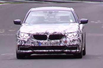 Új ötös BMW a Ringen