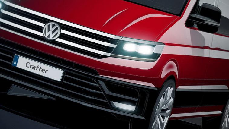 Ilyen lesz az új VW Crafter