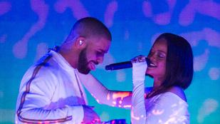 Rihanna a volt pasijával randizik