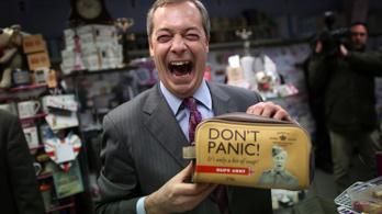 Újabb fordulat: lemond Nigel Farage, a UKIP vezetője