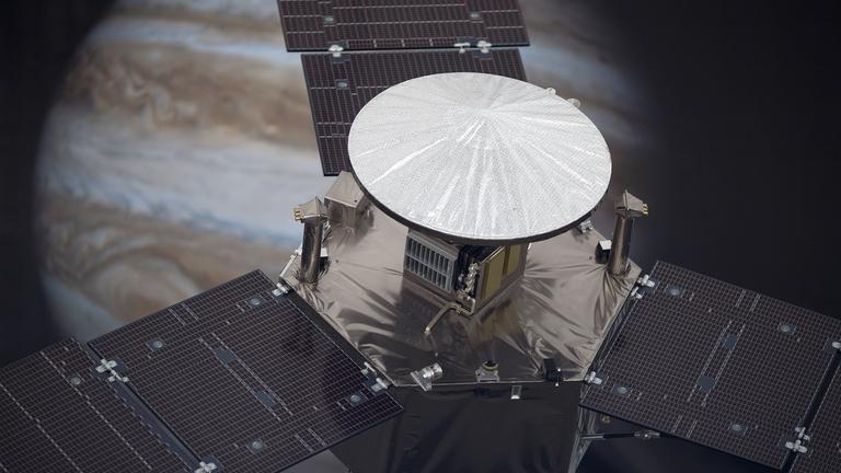 Pályára állt a NASA Jupiter-műholdja