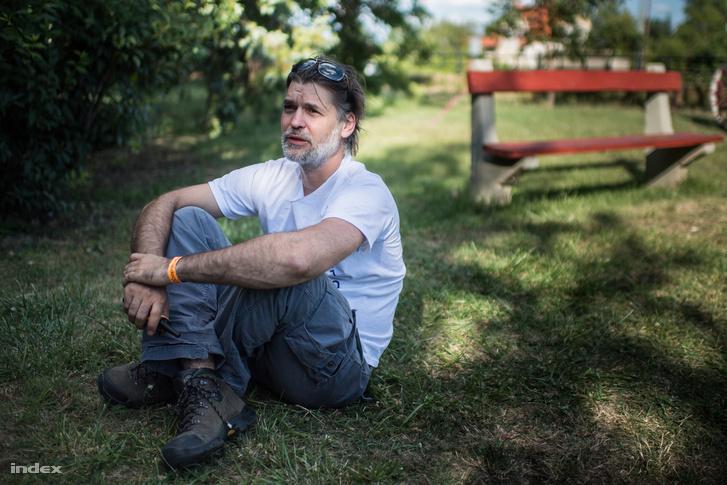 Pozsár Péter építész, a Hello Wood társalapítója