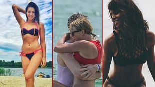 Nyár van, ezért a celebek bikiniben buliznak