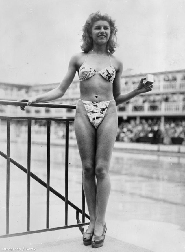 A 19 éves táncosnő, Micheline Bernardini volt az egyetlen a 40-es évek közepén aki be merte vállalni Louis Réard mesterművét.