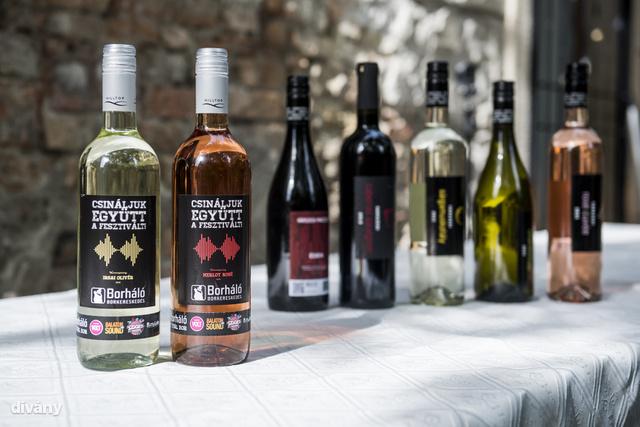 Hét féle bor lesz a Gerendai féle fesztiválokon.