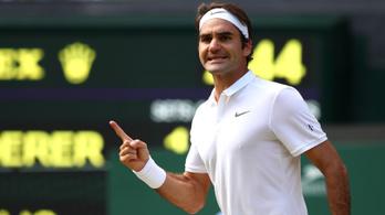 Federer a sírból, 3 meccslabdáról fordította meg az őrült meccset