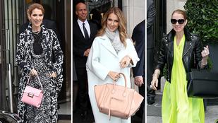 Milliókat vert el Celine Dion táskákra