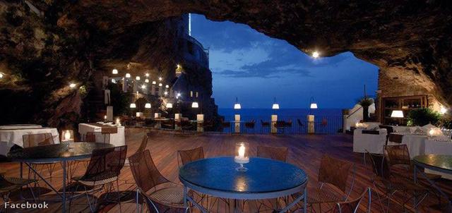 Grotta Palazzese, Polignano a Mare, Olaszország
