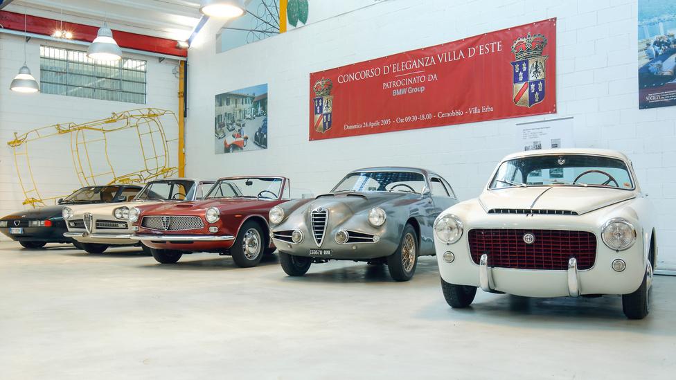 Ez mind Alfa Romeo, csak épp igen ritka vagy egyedi darabok, zárójelben a karosszériát készítő cég: Zeta 6 (Zagato), 2000 Coupé (Vignale), 2600 (Ghia), 1900 SS (Zagato), 1900 L TI (Pinin Farina).