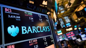 Büntetőügyben a Barclays a megmenekülése miatt