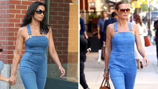 Kinek áll jobban a pólómentes farmeroverál?