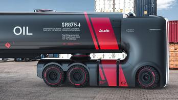 Ilyenek lennének az Audi kamionjai?