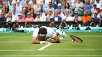 Federer a második ötszettest már nem bírta, Raonic kiütötte Wimbledonban