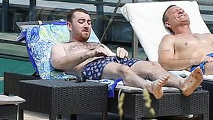 Sam Smithnek vizes úszógatyája okozott bosszús pillanatokat