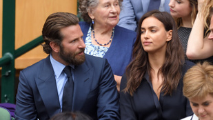 Bradley Cooper Wimbledonban megríkatta Irina Shaykot