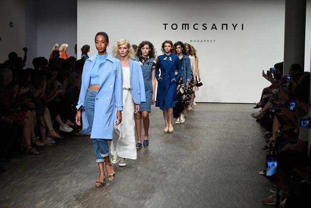 A berlini divathéten mutatta be 2017-es tavaszi-nyári kollekcióját Tomcsányi Dóri.