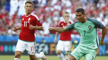 Ronaldo Némethnek súgta, hogy jó az eredmény